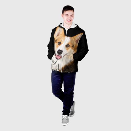 Мужская куртка 3D  Фото 03, Пемброк-вельш-корги