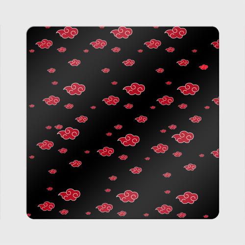 Магнит виниловый Квадрат Akatsuki (Кровавое облако) Фото 01