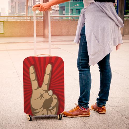 Чехол для чемодана 3D  Фото 04, Всё Peace DATA