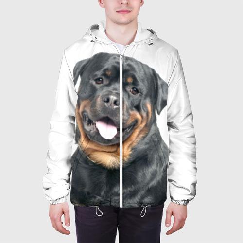 Мужская куртка 3D  Фото 04, Ротвейлер
