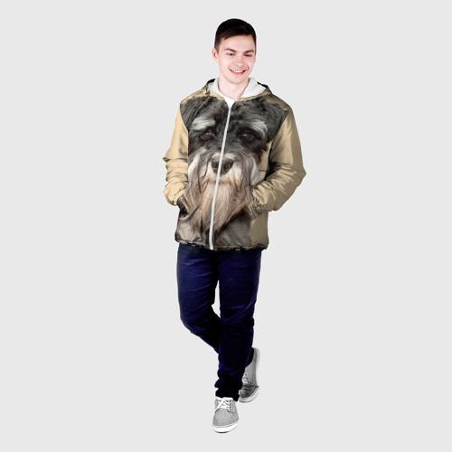 Мужская куртка 3D  Фото 03, Цвергшнауцер