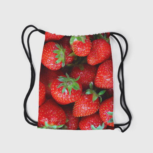 Рюкзак-мешок 3D  Фото 05, Клубничная