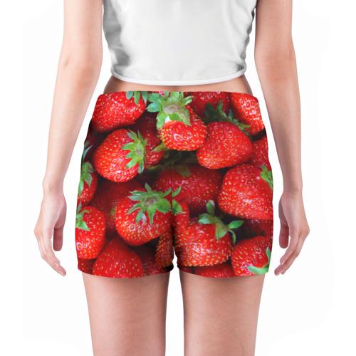 Женские шорты 3D Клубничная