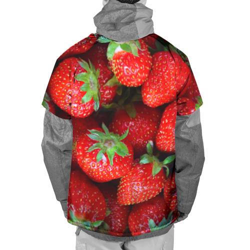 Накидка на куртку 3D  Фото 02, Клубничная