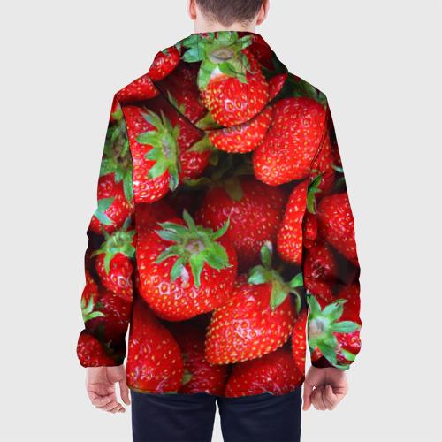 Мужская куртка 3D Клубничная Фото 01