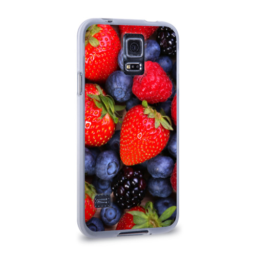 Чехол для Samsung Galaxy S5 силиконовый  Фото 02, Berries