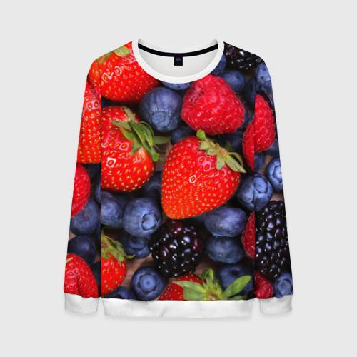 Мужской свитшот 3D Berries от Всемайки