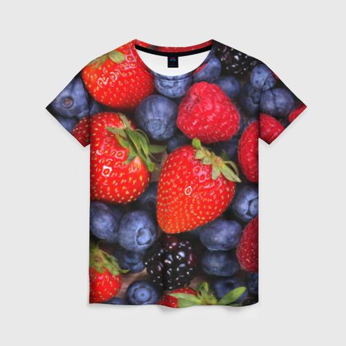 Женская футболка 3D Berries от Всемайки