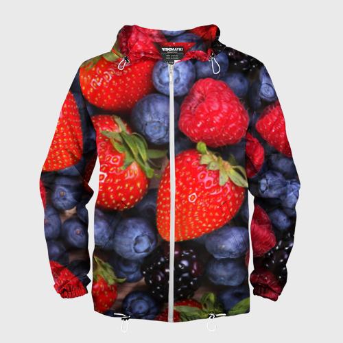 Мужская ветровка 3D  Фото 01, Berries