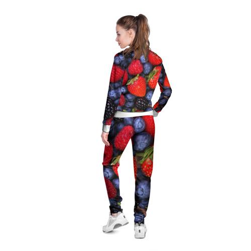 Женская олимпийка 3D  Фото 04, Berries