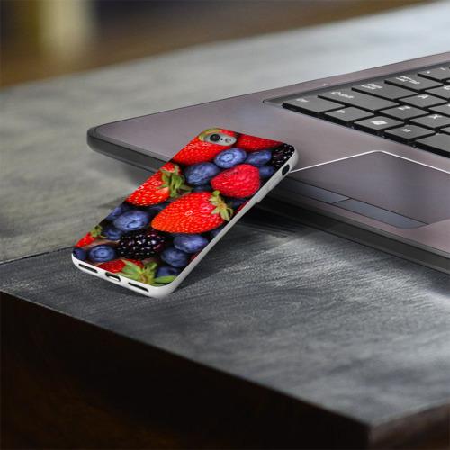 Чехол для Apple iPhone 8 силиконовый глянцевый  Фото 03, Berries