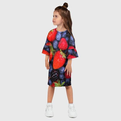 Детское платье 3D  Фото 03, Berries