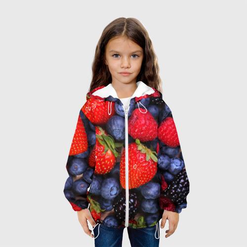 Детская куртка 3D  Фото 04, Berries