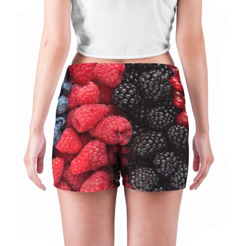 Женские шорты 3D  Фото 04, Ягодная