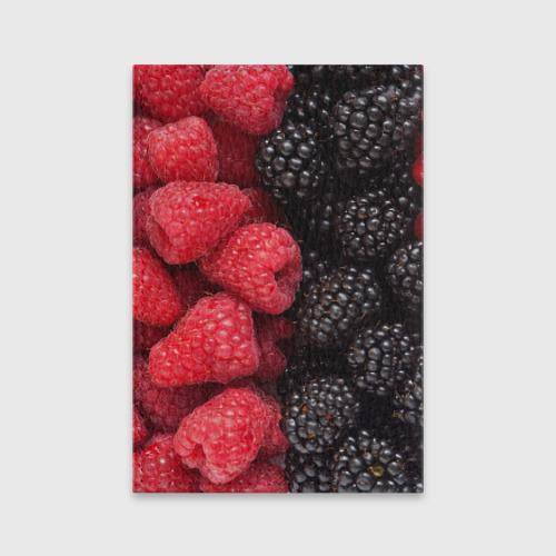 Обложка для паспорта матовая кожа  Фото 02, Ягодная