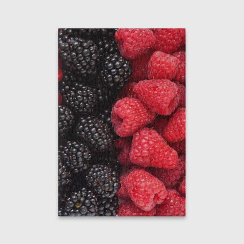 Обложка для паспорта матовая кожа  Фото 01, Ягодная