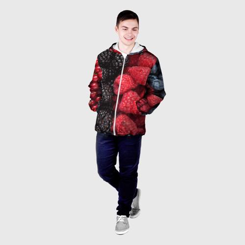Мужская куртка 3D  Фото 03, Ягодная