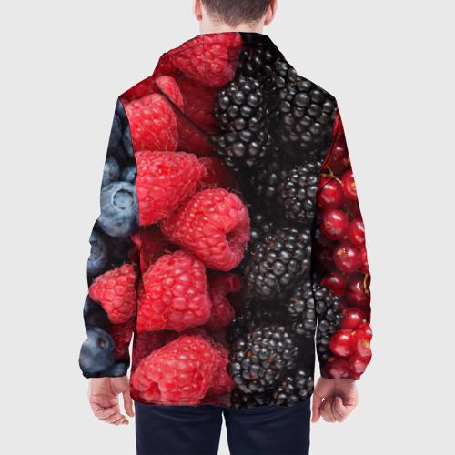 Мужская куртка 3D  Фото 05, Ягодная