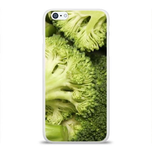 Чехол для Apple iPhone 6Plus/6SPlus силиконовый глянцевый  Фото 01, Брокколи