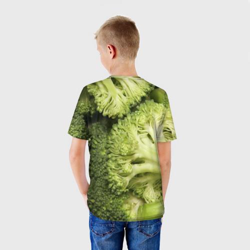 Детская футболка 3D  Фото 02, Брокколи