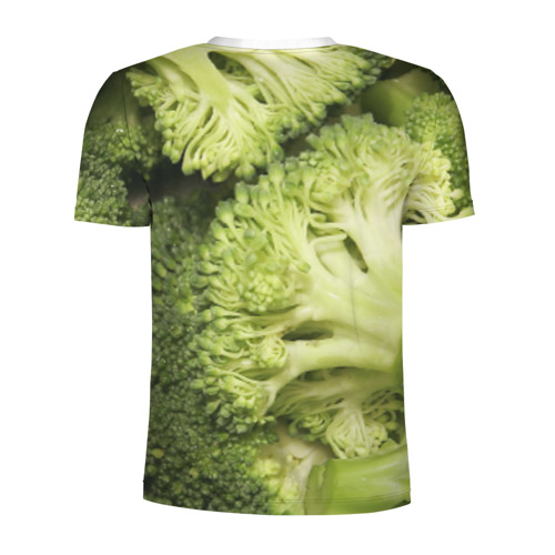 Мужская футболка 3D спортивная  Фото 02, Брокколи