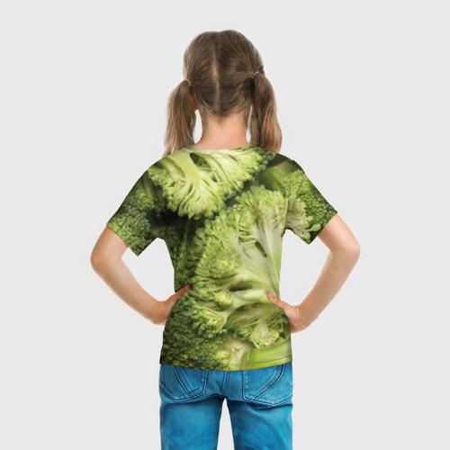 Детская футболка 3D  Фото 04, Брокколи