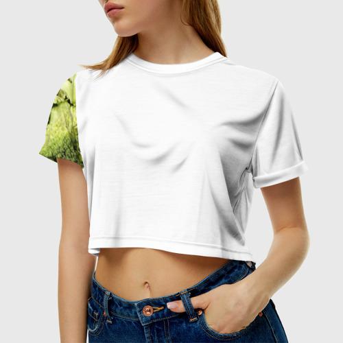 Женская футболка Cropp-top Брокколи