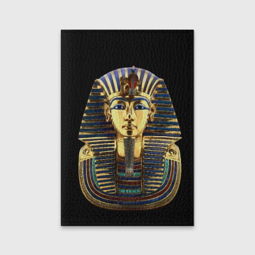 Обложка для паспорта матовая кожа  Фото 01, Фараон Тутанхамон