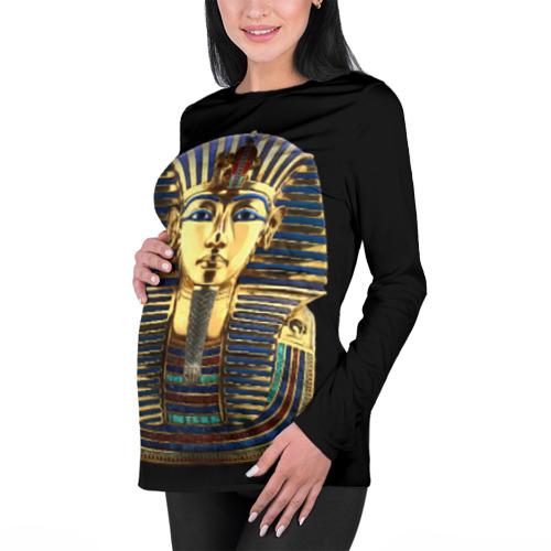 Женский лонгслив 3D для беременных  Фото 01, Фараон Тутанхамон