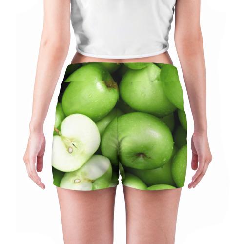 Женские шорты 3D  Фото 04, Яблочная