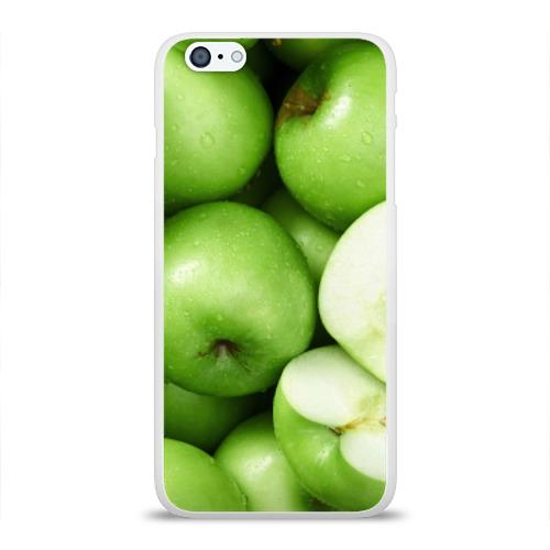 Чехол для Apple iPhone 6Plus/6SPlus силиконовый глянцевый  Фото 01, Яблочная