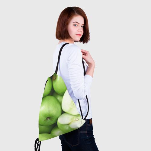 Рюкзак-мешок 3D  Фото 02, Яблочная