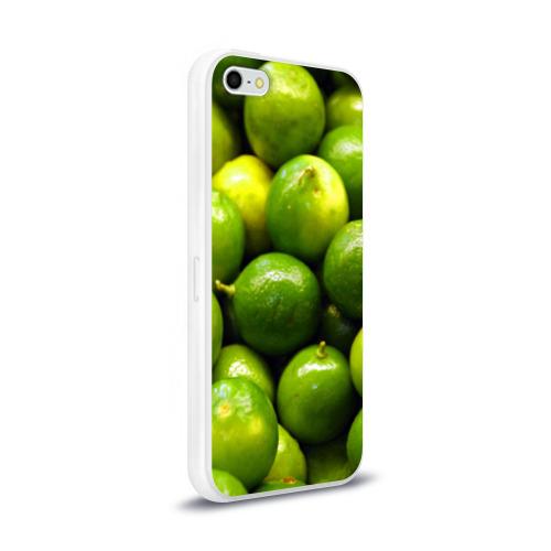 Чехол для Apple iPhone 5/5S силиконовый глянцевый  Фото 02, Лаймовая
