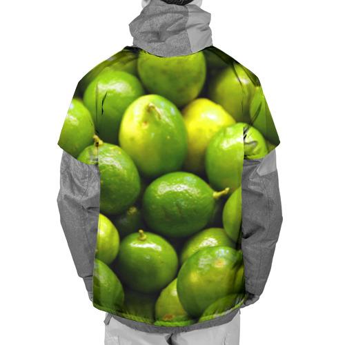 Накидка на куртку 3D  Фото 02, Лаймовая