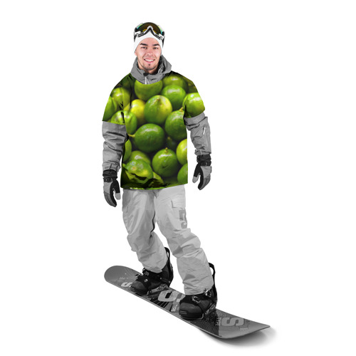 Накидка на куртку 3D  Фото 03, Лаймовая