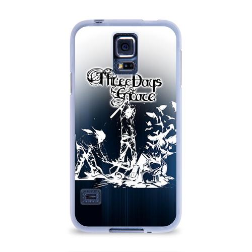 Чехол для Samsung Galaxy S5 силиконовый  Фото 01, Three Days Grace 2