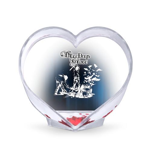 Сувенир Сердце Three Days Grace 2 от Всемайки