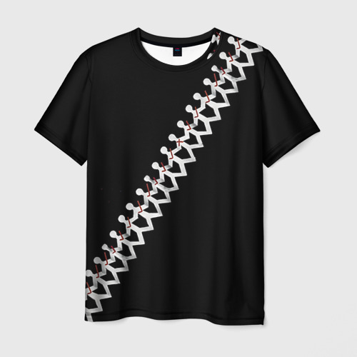 Мужская футболка 3D Three Days Grace 9
