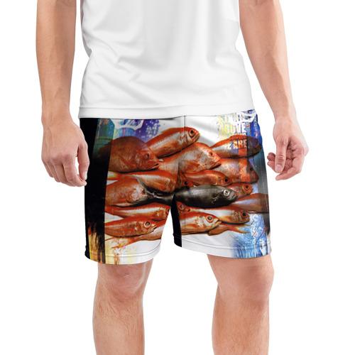 Мужские шорты 3D спортивные  Фото 03, Three Days Grace 10