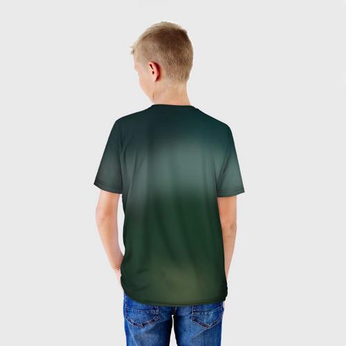 Детская футболка 3D  Фото 02, Секретные материалы 1
