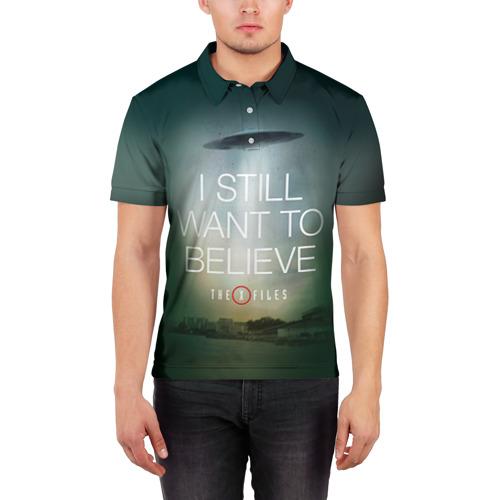 Мужская рубашка поло 3D  Фото 03, Секретные материалы 1
