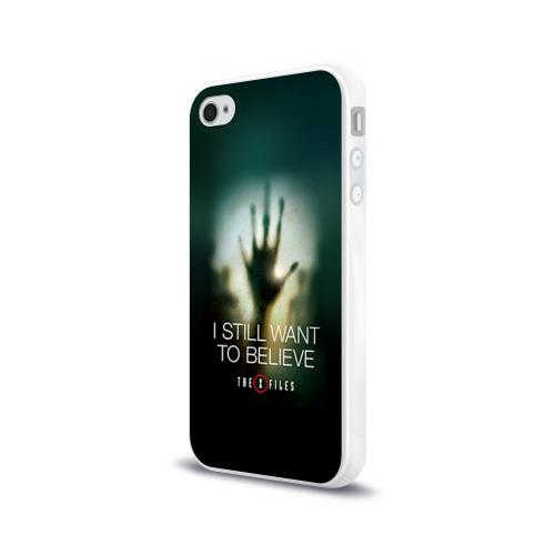 Чехол для Apple iPhone 4/4S силиконовый глянцевый  Фото 03, Секретные материалы 3