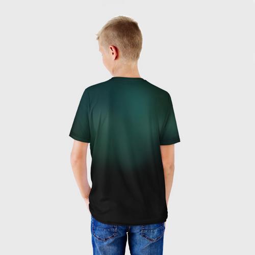 Детская футболка 3D  Фото 02, Секретные материалы 3