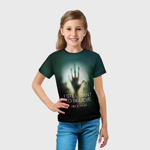 Детская футболка 3D  Фото 03, Секретные материалы 3