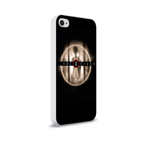 Чехол для Apple iPhone 4/4S soft-touch  Фото 02, Секретные материалы 4