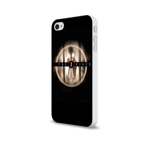 Чехол для Apple iPhone 4/4S soft-touch  Фото 03, Секретные материалы 4