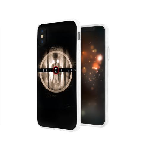 Чехол для Apple iPhone X силиконовый глянцевый  Фото 03, Секретные материалы 4