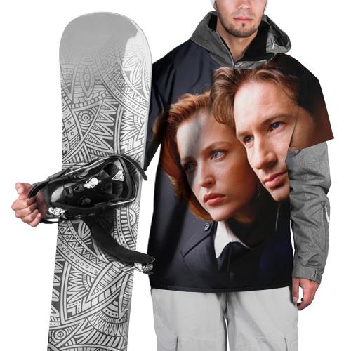 Накидка на куртку 3D  Фото 01, Секретные материалы 5