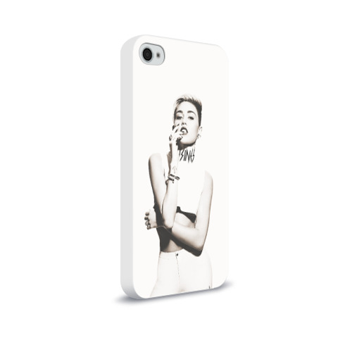 Чехол для Apple iPhone 4/4S soft-touch  Фото 02, Miley