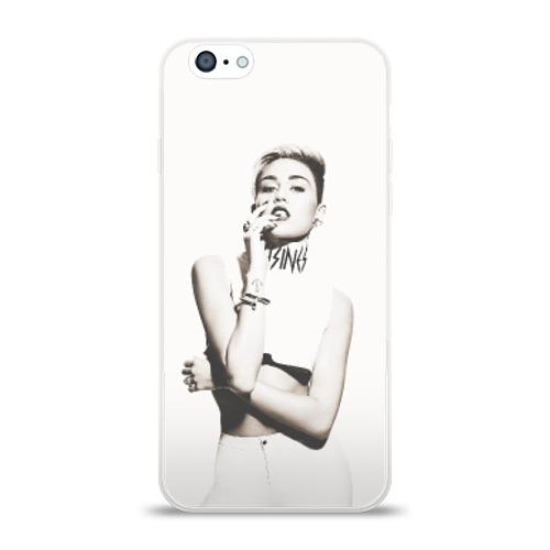 Чехол для Apple iPhone 6 силиконовый глянцевый  Фото 01, Miley